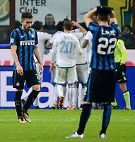 Delusione Alex Telles Inter<br /> Milano 20-12-2015 Stadio Giuseppe Meazza - Football Calcio Serie A Inter - Lazio. Foto Giuseppe Celeste / Insidefoto