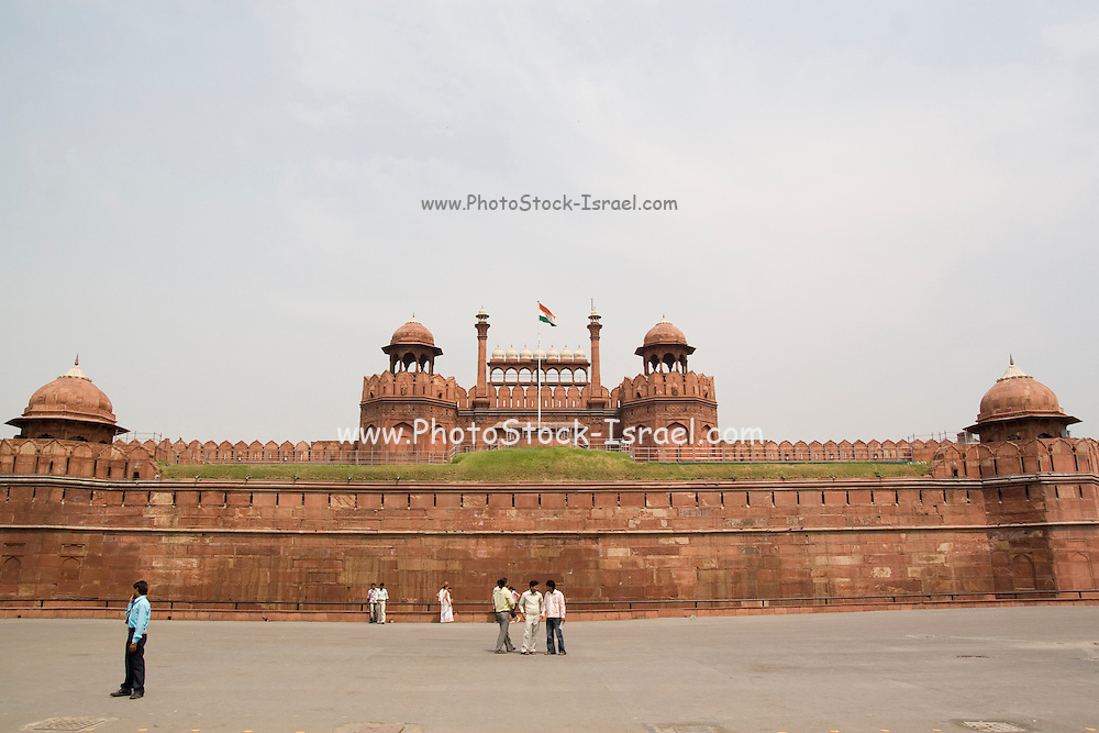India, Delhi, The Red Fort