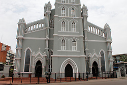 March 22, 2020, Lagos, Lagos, Nigeria: Cathedral Church of Christ, Marina, Lagos, Nigeria on , March 22, 2020 shut out members. In order to curtail the spread of coronavirus (COVID -19) Lagos State has restricted people's gathering to maximum of 50. (Credit Image: © Adekunle Ajayi/NurPhoto via ZUMA Press)