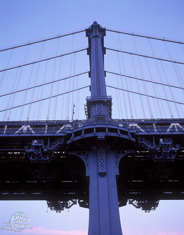 Manhattan Bridge Tower, Brooklyn, New York