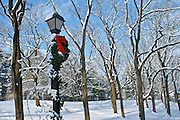 Winter Snow, Berks Co., PA Scene Gring's Mill at Christmas