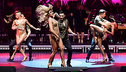Giovanni Pernice and Nadiya Bychkova perform during the Strictly Come Dancing Professionals UK Tour at Elstree Studios, London.