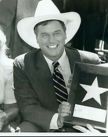 1981 Larry Hagman's Walk of Fame ceremony