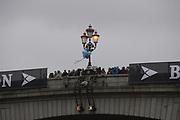London, United Kingdom.   2{BOW}  05/04/2014,  Varsity, Boat Race, Putney, Championship Course,  River Thames;    [Mandatory Credit; Peter Spurrier/Intersport Images],<br /> <br /> Crews, OUBC. Bow. Storm URU, 2. Tom WATSON, 3. Karl HUDSPITH, 4. Thomas SWARTZ, 5. Malcolm HOWARD, 6. Mike DI SANTO, 7. Sam O'CONNOR, Stroke. Constantine LOULOUDIS and Cox Laurence HARVEY,<br /> <br /> CUBC. Bow. Mike THORP, 2. Luke JUCKETT, 3. Ivo DAWKINS, 4. Steve DUDEK, 5. Helge GRUETJEN, 6. Matthew JACKSON, 7. Joshua HOOPER, Stroke, Henry HOFFSTOT and cox Ian MIDDLETON