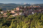 Roussillon near Apt, Vaucluse, Provence France