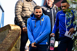 Alex Jakubiak of Bristol Rovers arrives at Roots Hall prior to kick off - Mandatory by-line: Ryan Hiscott/JMP - 02/02/2019 - FOOTBALL - Roots Hall - Southend-on-Sea, England - Southend United v Bristol Rovers - Sky Bet League One