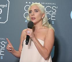 24th Annual Critics Choice Awards - Press Room. 13 Jan 2019 Pictured: Lady Gaga. Photo credit: TPI/MEGA TheMegaAgency.com +1 888 505 6342