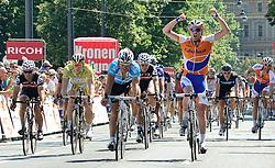 11.07.2010, AUT, 62. Österreich Rundfahrt, 8. Etappe, Podersdorf-Wien, im Bild Graeme Brown (AUS, Rabobank), EXPA Pictures © 2010, PhotoCredit: EXPA/ S. Zangrando / SPORTIDA PHOTO AGENCY