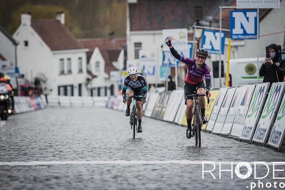 race winner Amy Pieters (NED/SD Worx) <br /> <br /> 2nd Nokere Koerse WE (BEL) 2021<br /> UCI Women Elite 1.PRO<br /> One Day Race: Deinze > Nokere 124km