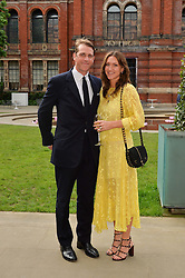 BEN & MARY CLARE ELLIOT at the V&A Summer Party in association with Harrod's held at The V&A Museum, London on 22nd June 2016.