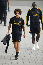 September 4, 2018 - Tubize, Belgique - Axel Witsel midfielder of Belgium and Romelu Lukaku forward of Belgium (Credit Image: © Panoramic via ZUMA Press)