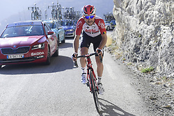 March 16, 2019 - Col De Turini, France - MONFORT Maxime (BEL) of LOTTO SOUDAL pictured during stage 7 of the 2019 Paris - Nice cycling race with start in Nice and finish in Col de Turini  on March 16, 2019 in Col De Turini, France, (Credit Image: © Panoramic via ZUMA Press)