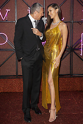 Jean Christophe Babin and Bella Hadid attend the Bvgalri Gala Dinner held at the Stadio dei Marmi in Rome, Italy on June 28, 2018. Photo by Marco Piovanotto/ABACAPRESS.COM