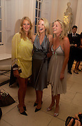 Anita Patrickson, Willow Corbett-Winder and Natalie Burgun,  British Luxury Club, Celebration, the Orangery, Kensington Palace. 16 September 2004. SUPPLIED FOR ONE-TIME USE ONLY-DO NOT ARCHIVE. © Copyright Photograph by Dafydd Jones 66 Stockwell Park Rd. London SW9 0DA Tel 020 7733 0108 www.dafjones.com