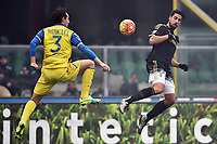 Dario Dainelli Chievo, Sami Khedira Juventus <br /> Verona 31-01-2016 Stadio Bentegodi, Football Calcio Serie A 2015/2016 Chievo - Juventus. Foto Andrea Staccioli / Insidefoto