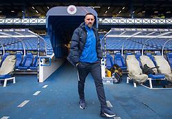 Kilmarnock's Kris Boyd arrives for the Ladbrokes Scottish Premiership match at Ibrox Stadium, Glasgow.