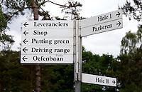 LOCHEM - Wegwijzer.  Lochemse GC De Graafschap. COPYRIGHT KOEN SUYK