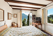 interior of old house, classic furniture, nice bedroom