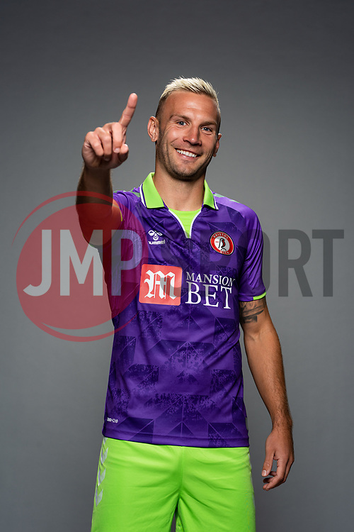 Andreas Weimann of Bristol City during the 20/21 media day - Rogan/JMP - 28/08/2020 - Ashton Gate Stadium - Bristol, England.