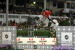 Deusser Daniel, (GER), Cornet D Amour<br /> Final<br /> Furusiyya FEI Nations Cup Jumping Final - Barcelona 2015<br /> © Dirk Caremans<br /> 26/09/15