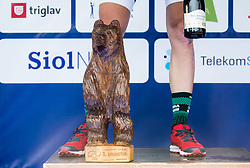 Bear of Kocevje city at trophy ceremony during Stage 1 of 24th Tour of Slovenia 2017 / Tour de Slovenie from Koper to Kocevje (159,4 km) cycling race on June 15, 2017 in Slovenia. Photo by Vid Ponikvar / Sportida
