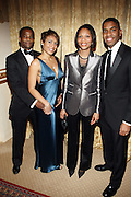 l to r: Joseph Brazil, Michelle Brazil,Gillian Canal and Reggie Canal at The Fifth Annual Grace in Winter Gala honoring Susan Taylor, Kephra Burns, Noel Hankin and Moet Hennessey USA and benfiting The Evidence Dance Company held at The Plaza Hotel on February 3, 2009 in New York City.