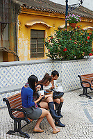 Chine Macao, vieille ville // China, Macao, old city
