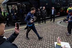 Dele Alli of Tottenham Hotspur arrives at Craven Cottage - Mandatory by-line: Jason Brown/JMP - 19/02/2017 - FOOTBALL - Craven Cottage - Fulham, England - Fulham v Tottenham Hotspur - Emirates FA Cup fifth round