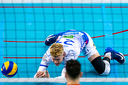 Bennie Tuinstra of Lycurgus in action during the league match between Draisma Dynamo vs. Amysoft Lycurgus on March 13, 2021 in Apeldoorn.