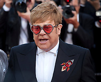 Sir Elton John at the Rocketman gala screening at the 72nd Cannes Film Festival Thursday 16th May 2019, Cannes, France. Photo credit: Doreen Kennedy