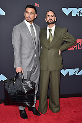 Charly Defrancesco, Marc Jacobs attend the 2019 MTV Video Music Awards at Prudential Center on August 26, 2019 in Newark, New Jersey. Photo by Lionel Hahn/ABACAPRESS.COM