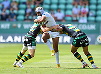 Rugby Union - 2020 / 2021 Gallagher Premiership - Round 21 - Northampton Saints vs Exeter Chief - Franklin Gardens.<br /> <br /> Exeter Chiefs' Tom O'Flaherty in action during this afternoon's game.<br /> <br /> COLORSPORT/ASHLEY WESTERN