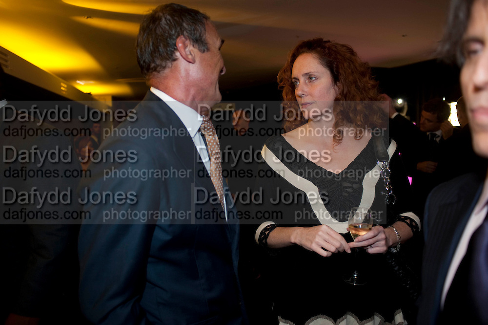 A.A. GILL; REBEKAH WADE, The 2009 GQ Men Of The Year Awards at The Royal Opera House. Covent Garden.  8 September 2009.