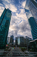La Défense Cloudscape