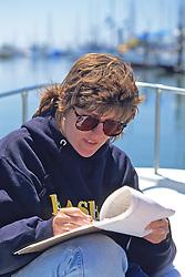 Jenny Taking Notes