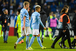 November 8, 2018 - MalmÅ, Sweden - 181108 SÅ¡ren Rieks and Romain Gall looks dejected while leaving the field after the Europa League group stage match between MalmÅ¡ FF and Sarpsborg 08 on November 8, 2018 in MalmÅ¡..Photo: Petter Arvidson / BILDBYRN / kod PA / 92149 (Credit Image: © Petter Arvidson/Bildbyran via ZUMA Press)