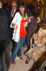SADIE FROST at a party to celebrate the opeing of the new Paul & Joe Boutique at 134 Sloane Street, London SW1 on 14th April 2005.<br /><br />NON EXCLUSIVE - WORLD RIGHTS