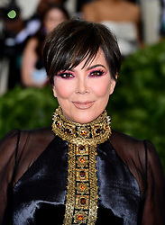 Kris Jenner attending the Metropolitan Museum of Art Costume Institute Benefit Gala 2018 in New York, USA.