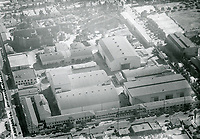 1936 Aerial view of United Artist Studios. Formerly Pickford Fairbanks Studio