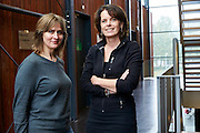 's-HERTOGENBOSCH   Esther Brandsr (l) en Saskia deJonge (r)