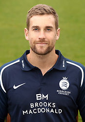 Middlesex's Dawid Malan during the media day at Lord's Cricket Ground, London.