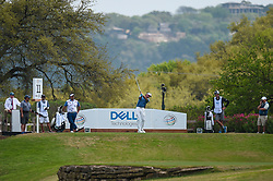 March 24, 2018 - Austin, TX, U.S. - AUSTIN, TX - MARCH 24: Bubba Watson hits his tee shot during the quarterfinals of the WGC-Dell Technologies Match Play on March 24, 2018 at Austin Country Club in Austin, TX. (Photo by Daniel Dunn/Icon Sportswire) (Credit Image: © Daniel Dunn/Icon SMI via ZUMA Press)