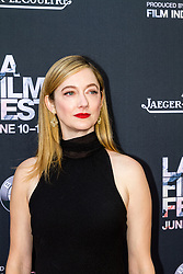 LOS ANGELES, CA - JUNE 10: Judy Greer attends the opening night premiere of 'Grandma' during the 2015 Los Angeles Film Festival at Regal Cinemas L.A. Live on June 10, 2015. Byline, credit, TV usage, web usage or linkback must read SILVEXPHOTO.COM. Failure to byline correctly will incur double the agreed fee. Tel: +1 714 504 6870.