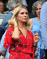 Tennis - 2019 Wimbledon Championships - Week One, Saturday (Day Six)<br /> <br /> Mens Singles, 3rd Round <br /> Sports Men and Women in the Royal Box on Centre Court<br /> <br /> England Manager Gareth Southgate's wife,Alison<br /> <br /> COLORSPORT/ANDREW COWIE