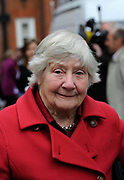 "Dame Shirley Williams leaves the Liberal Democrats headquarters in London, May 2010. Williams is a British politician and academic. Originally a Labour Member of Parliament) and Cabinet Minister, she was one of the ""Gang of Four"" rebels who founded the Social Democratic Party (SDP) in 1981."
