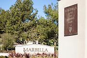 Marbella Golf And Country Club Entrance Of San Juan Capistrano California