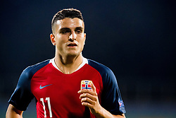 September 9, 2018 - Sofia, BULGARIA - 180909 Mohamed Elyounoussi of Norway during the Nations League match between Bulgaria and Norway on September 9, 2018 in Sofia..Photo: Jon Olav Nesvold / BILDBYRN / kod JE / 160311 (Credit Image: © Jon Olav Nesvold/Bildbyran via ZUMA Press)