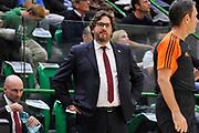 SASSARI 13 NOVEMBRE 2015/2016<br /> EUROLEGA EUROLEAGUE<br /> Dinamo Banco di Sardegna Sassari - Brose Basket Bamberg<br /> NELLA FOTO Andrea Trinchieri<br /> FOTO CIAMILLO