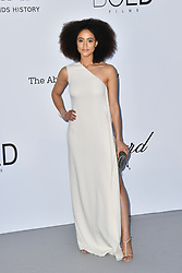 Nathalie Emmanuel attends the 2018 amfAR Gala on May 17, 2018 in Cap D'Antibes, France. Photo by Lionel Hahn/ABACAPRESS.COM