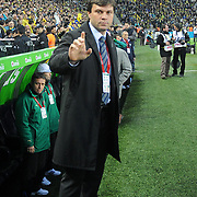 Bursaspor's coach Ertugrul SAGLAM during their Turkish superleague soccer match Fenerbahce between Bursaspor at the Sukru Saracaoglu stadium in Istanbul Turkey on Sunday 03 April 2011. Photo by TURKPIX